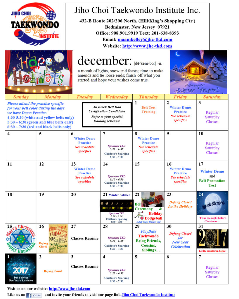jihochoi-taekowndo-events-december-2016-calendar-fl
