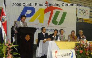 jihochoi-taekwondo-institute-2009-costa-rica-opening-ceremony-fl