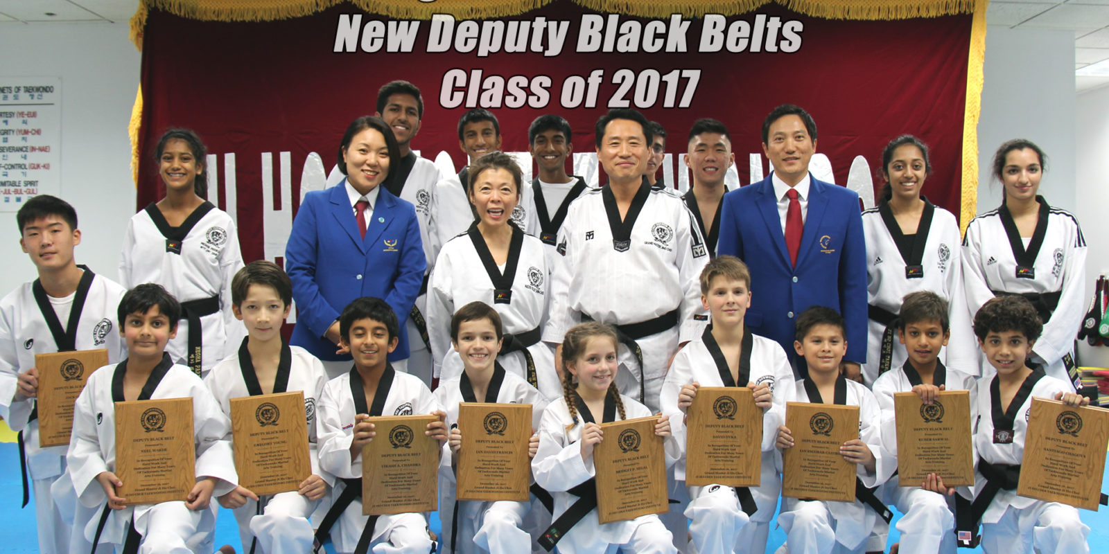 Congratulations to Our Newest Deputy Black Belts!