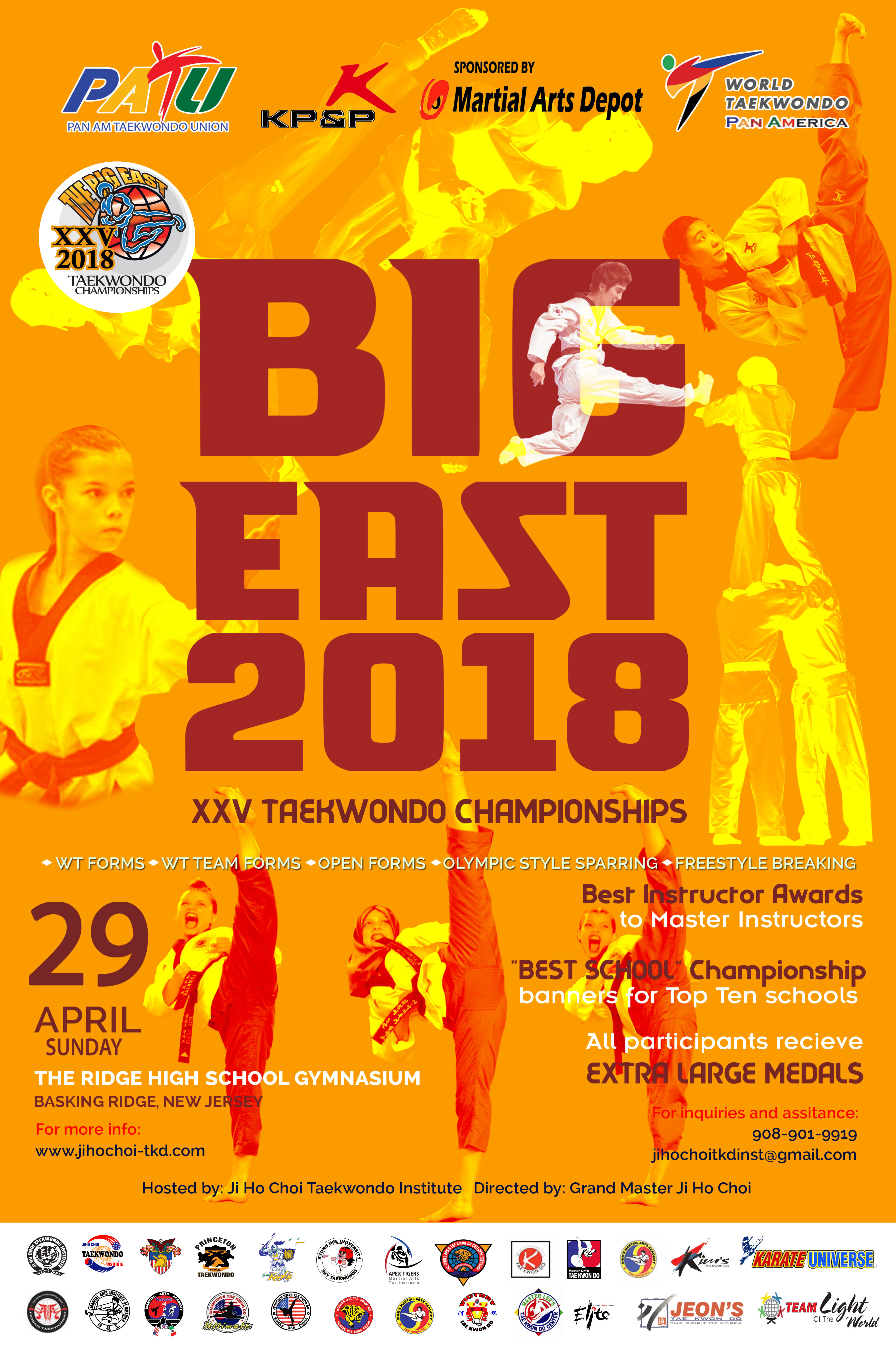 2018 Big East Taekwondo Championships XXV – Ji Ho Choi ...