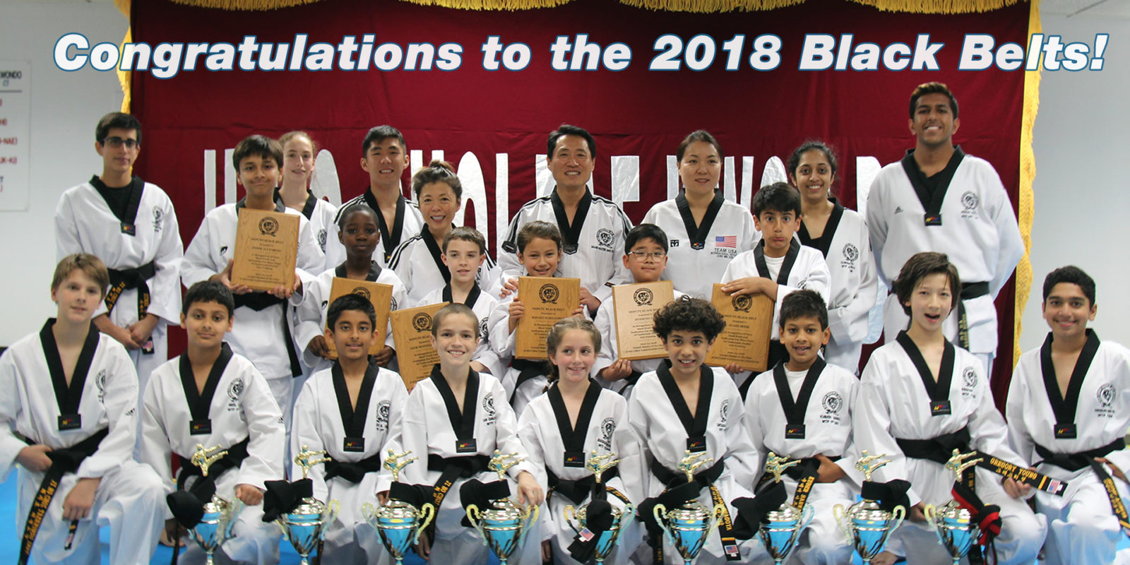 Congratulations to all Deputy and Certified Black Belts!