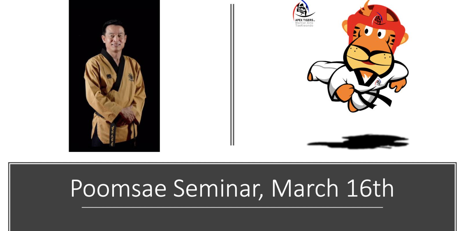 Taekwondo Poomsae Seminar