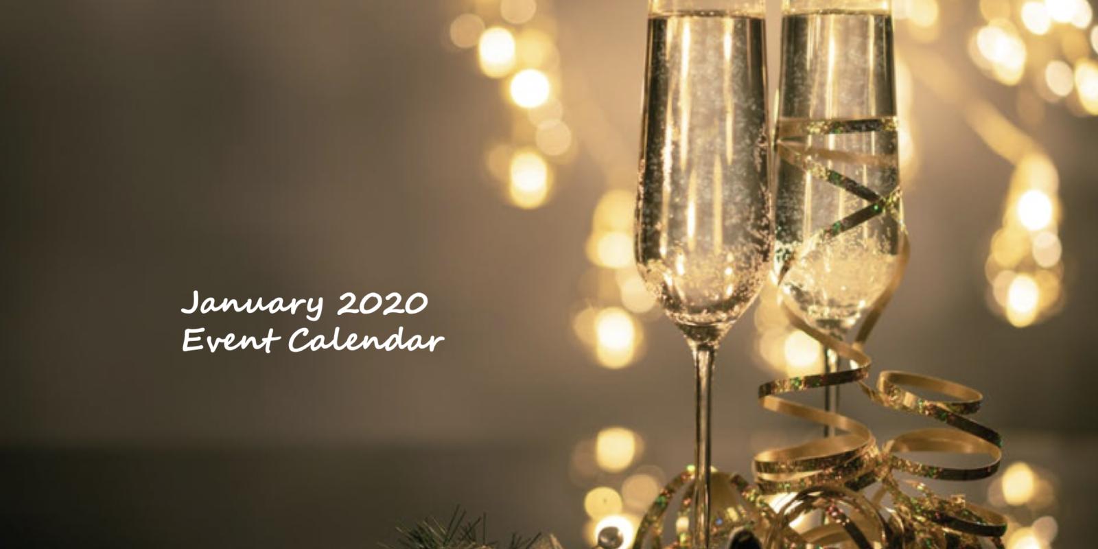 January 2020 Event Calendar